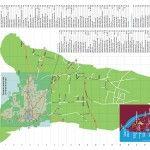 Plan de ville et de région - Carte en dépliant