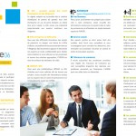 brochure communication salon les Entreprenariales