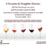 Invitation soirée Beaujolais