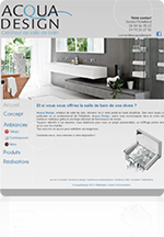 Site internet salles de bain - carrelage