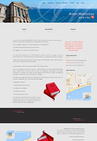 Site internet CMS avocat