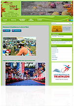 site internet sport triathlon