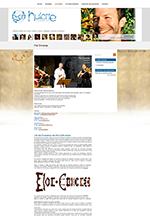 site internet CMS contes artistes