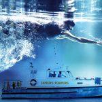 affiche et flyer natation