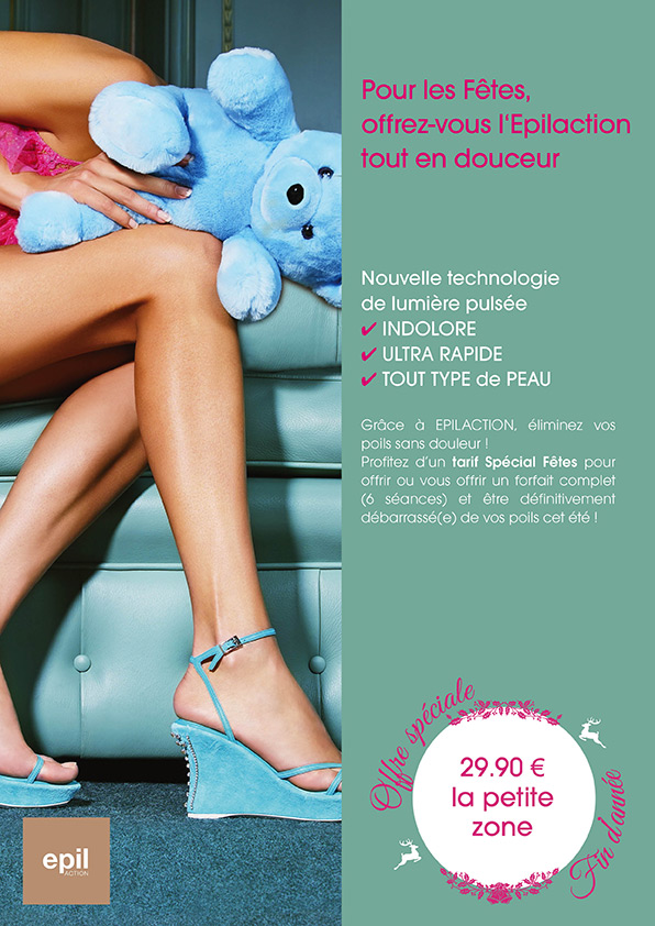 Affiche communication Epilation